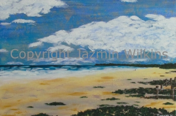 An Evening at Brunswick Heads - Acrylic on Canvas - 2016 76cm X 51cm Painted on 10oz, Double Primed Canvas, Stretched onto a 4cm, Solid Pine Frame AUD$295 + Postage and Handling
